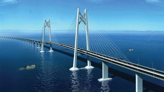 港珠澳大桥贯通